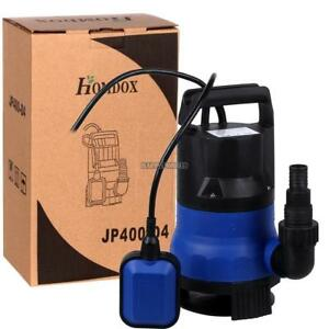 Submersible Water Pump 1 2 Hp 2000gph Pumps Clean Dirty Pool Pond Flood Drain Us