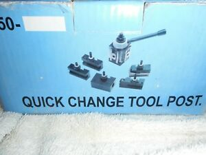 Axa Piston Type Quick Change Tool Post And Tool Holder Set For Lathe 6 12