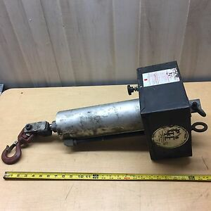 Ge Co Air Cylinder Hoist Lift Or Push Down Clamp With Speed Control Dial