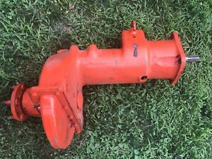 1945 Allis Chalmers C Complete Bolt On Ready Drop Axle right