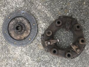 1945 Allis Chalmers B C Tractor Ac Pressure Plate With Clutch Disc