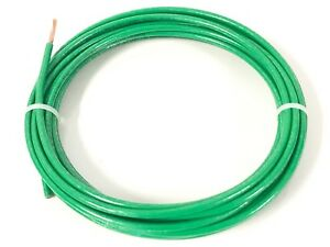 50 Feet Thhn Thwn 2 2 Awg Gauge Green Copper Building Wire Vw 1