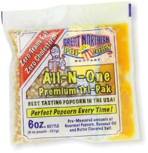 Great Northern Popcorn 6 ounce Portion Packs pack Of 24