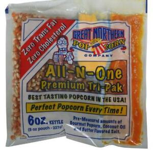 Great Northern 6 ounce Popcorn Portion Packs case Of 24