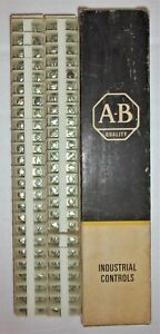 Allen Bradley 1492 Cd3 Terminal Block Series A Full Box Of 50 New In The Box