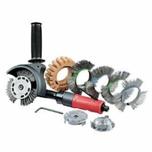 Dynabrade 18257 Autobrade Red Dynazip Deluxe Versatility Kit Rt Angle 3 200 Rpm