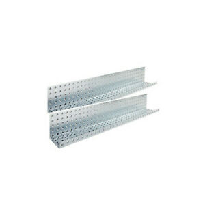 Alligator Board 32 X 5 Metal Pegboard Shelves