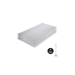 Alligator Board Metal Pegboard Panel Kit Without Flange