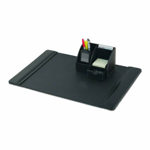 Dacasso 2 Piece Desk Set Black