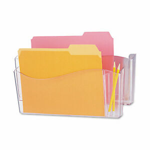 Universal Unbreakable 4 in 1 Wall File Two Pockets Plastic