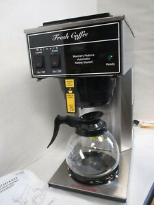 Newco 101699 Ak 2as Coffee Brewer W decanter New Auto Safety Shut Off
