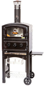Fornetto Wood Fired Oven And Smoker Black