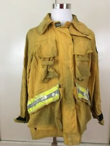 Barrier Wear Wildland Brush Firefighter Jacket Reflector Large Halloween Costume
