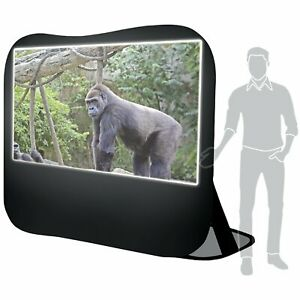 Sima Pop up White 120 Portable Projection Screen 1 6 X 41 7 X 41 8
