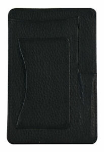 Brayden Studio Jenny Genuine Leather Small Notepad Holder Black