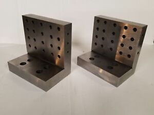 6 6 4 Precision Ground Fixture 90 Degree Angle Plate Machinist Block Set