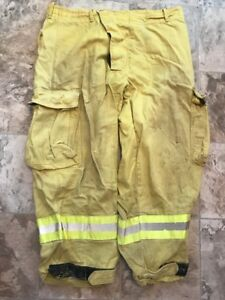 Sierra Firefighter Brush Wildland Pants Yellow 38 X 32