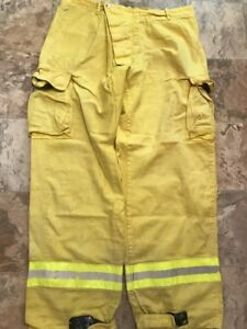 Sierra Firefighter Brush Wildland Pants Yellow 43 X 36