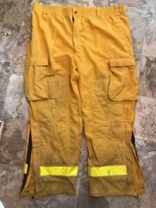 Barrier Wear Firefighter Brush Wildland Pants Yellow Nomex Xl short