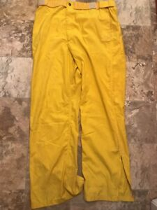 Transcon Firefighter Brush Wildland Pants Yellow Size Xl long