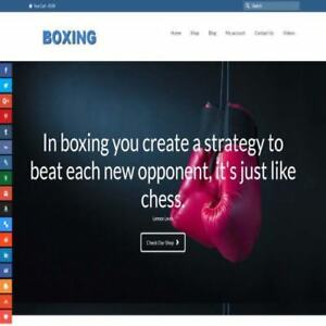Boxing Shop Home Based Make Money Website Business For Sale