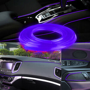 Bright Green Diy Car Interior Exterior Decoration Moulding Trim Strip Line 5m