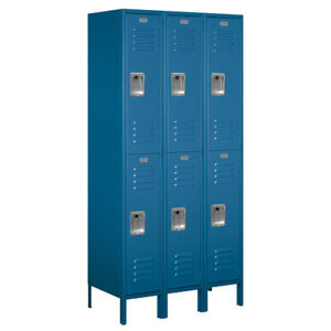 Salsbury Industries 2 Tier 3 Wide Employee Locker