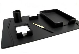Bey berk 6 Piece Desk Set Black
