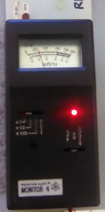 Vintage Radiation Alert Monitor 4 Power Supply Excellent Condition