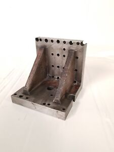 4 4 Precision Ground Webbed Angle Plate Machinist Block