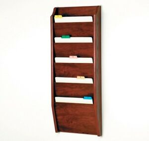 Wooden Mallet Five Pocket Chart Holder