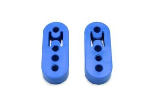 1320 Performance Polyurethane Adjustable Muffler Exhaust Hanger Blue Universal 2