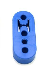1320 Performance Polyurethane Adjustable Muffler Exhaust Hanger Blue Universal