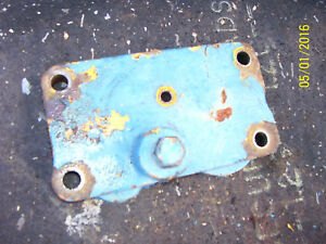 Vintage Ford 4000 Gas Tractor remote Hydraulic Plate 1963
