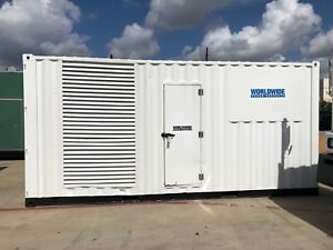 Cummins Qst30 g5 Diesel Generator Set 800 Kw 480v Sa Enclosed