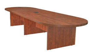 Latitude Run Linh Oval Wood Conference Table