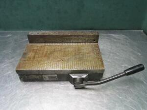Kanetsu Type Kmt 1530a Permanent Magnet Magnetic Chuck 12 X 6