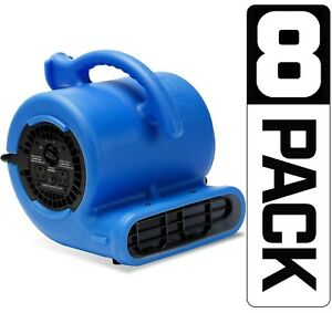 8 Pack B air Vp 25 Air Mover Floor Blower Dryer Water Damage Restoration refurb