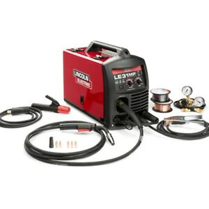 140 Amp Le31mp Multi process Stick mig tig Welder Kit W Magnum Gun By Lincoln