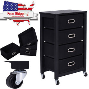 Rolling Heavy Duty File Cabinet Mobile Storage Drawer Tool Box With Wheels