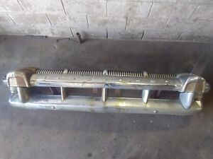1956 Mercury Front Bumper And Grille Assembly Complete 56