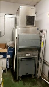 Hoshizaki 800lb Flaker Ice Machine F 801mah With Bin Air Cooled 115v warranty