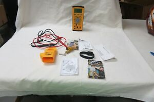Fieldpiece Lt17a Digital Multimeter Ach4 Current Clamp W leads