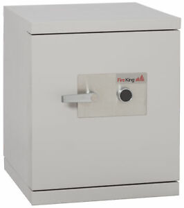 Fireking Fireproof 1 hour Data Security Safe With Impact rated Key Lock