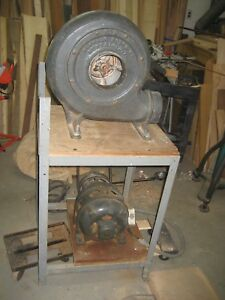Buffalo Forge Vacuum Blower 2 With 2hp 3 Phase 220 Volts Working Motor