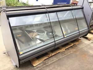 Hill Phoenix 8 Slant Glass Service Deli Meat Cheese Or Fish Display Cases 2014