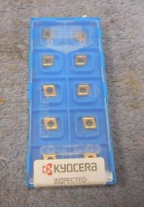 Kyocera Carbide Inserts Cpgt 21 51 Grade Pr630 Sealed Pack Of 10
