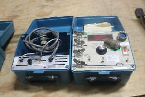 Biddle 247000 Dlro Digital Low Resistance Ohmmeter W 15572 1 Battery Charger