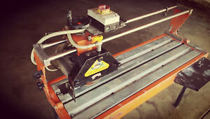 Wet Saw Nuovo Mondial manta Brand Granite Marble Ceramic 40 Cutting Length