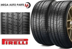 2 X New Pirelli Pzero 295 30zr20 101y N0 Xl High Performance Tires